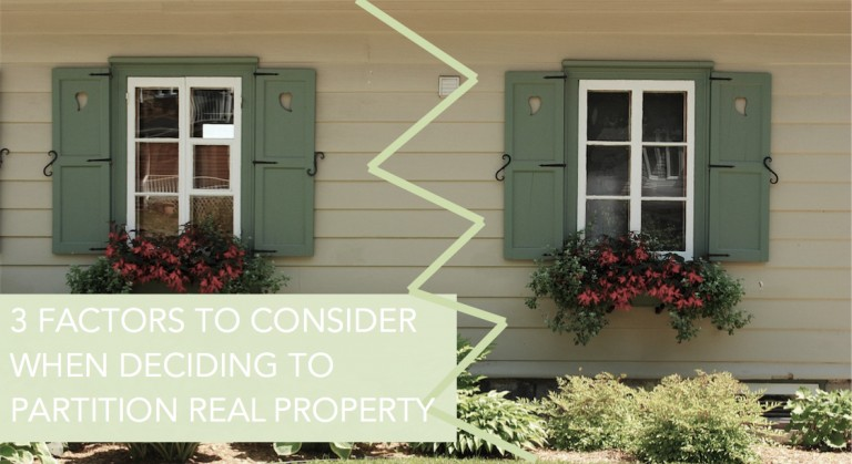 3-Factors_Partition-Real-Property