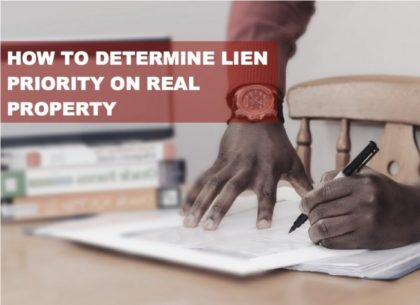Determine-Lien-on-Property
