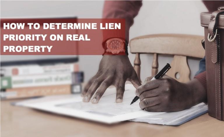 Determine-Lien-on-Property