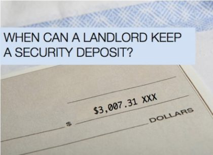 when-can-landlord-keep-a-security-deposit