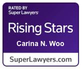 Carina Woo - Super Lawyers Rising Stars
