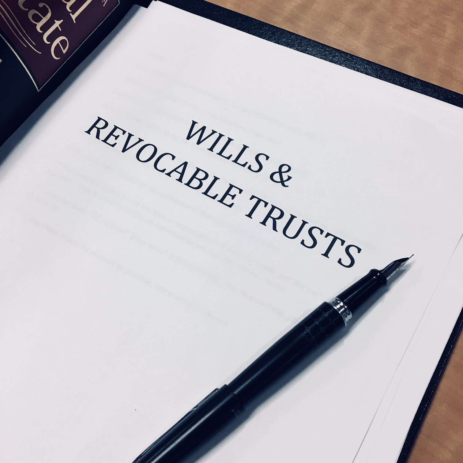 Wills and Revocable Living Trusts