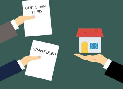 Difference Between Grant Deeds and Quitclaim Deeds